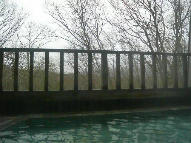 沼尻高原ロッジの風呂は熱い