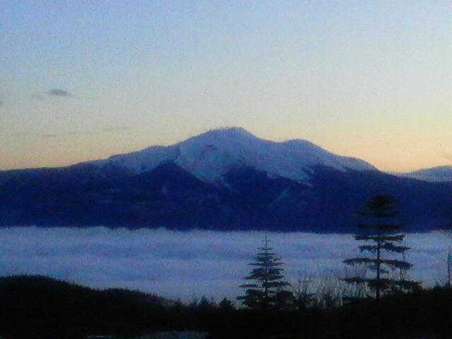 乗鞍岳と雲海