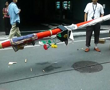 菊水鉾解体作業5