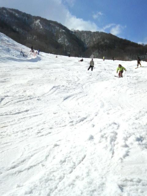 スノーダイビング