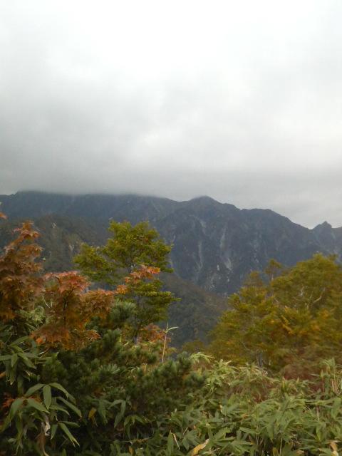 一ノ背髪から五竜岳