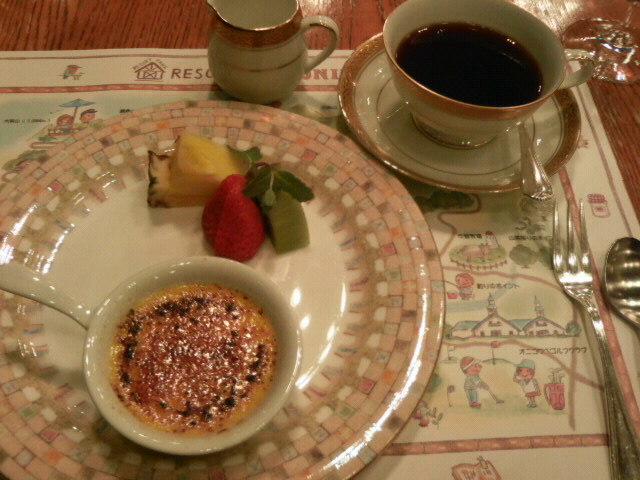 ホテルオニコウベ 夕食 洋食