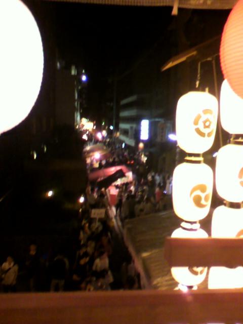 菊水鉾 室町通り