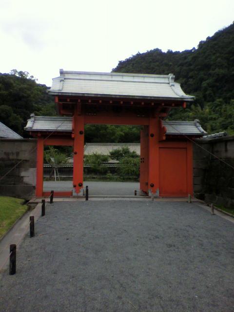 仙厳園 錫門